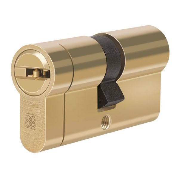 CILINDRO SEG. 31x31 mm. MPRO. LATÓN. C88